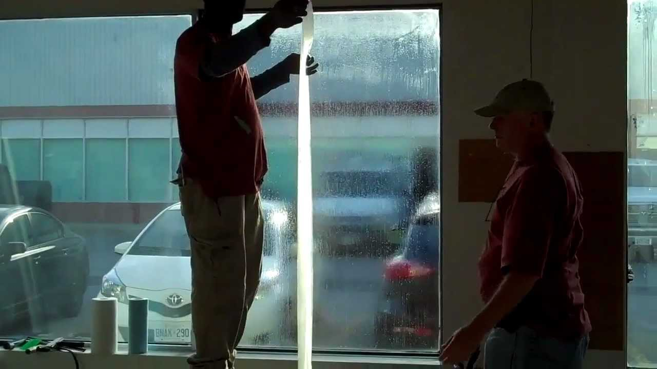 Diy How To Install Security Window Film Part 3 Quot Applying