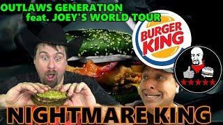 Burger King - Nightmare King - Joeysworldtour Collab