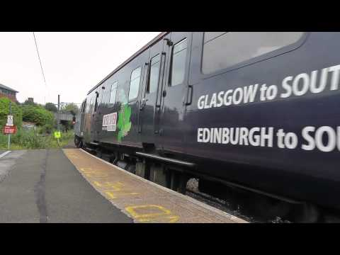 Cruise Saver Charter Train 1Z81 at Manors DRS Class 47s 47818 and 47802 20th July 2012.m2ts