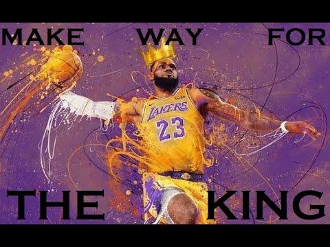 LEBRON JAMES (NBA RETURN MONTAGE) - MAKE WAY FOR THE KING (OHANA BAM)