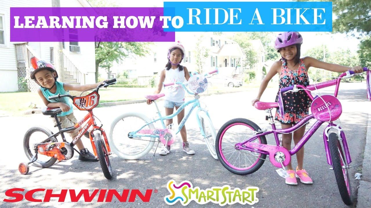 LEARNING HOW TO RIDE A BIKE   Schwinn SmartStart