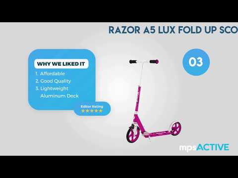 10 Best Scooters For Kids In 2018 Kids Scooters Age 4 5 6 7 Years