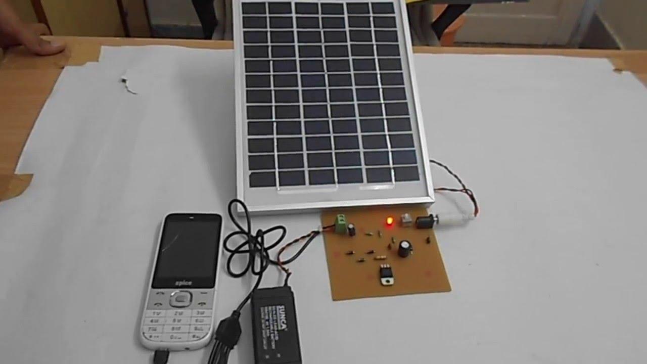 Techkritya - Solar Mobile Charger - YouTube