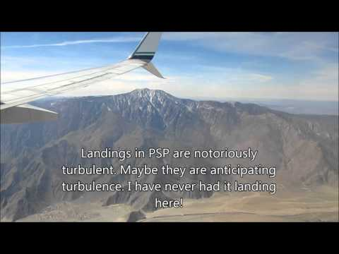 Alaska Airlines economy class, SEA-PSP Boeing 737-800/737-900er March 2016