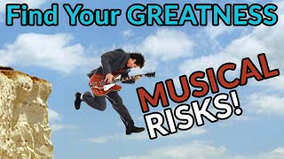 """MUSICAL RISKS: Find Your Own GREATNESS- Crazy """"Time of the Season"""" Lead Solo - 10,000 Subscribers!"""