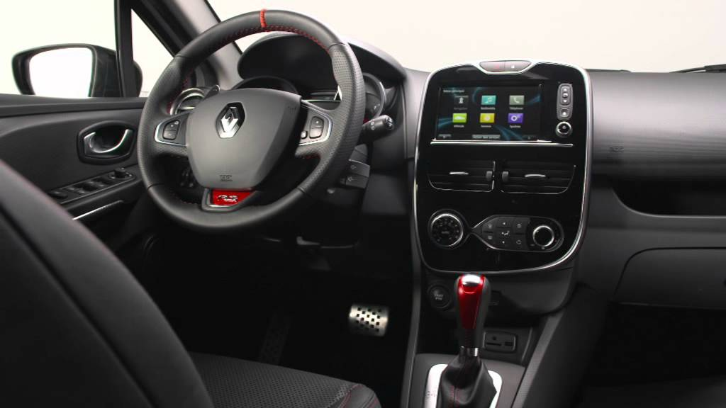 renault clio r s 220 edc trophy interior youtube. Black Bedroom Furniture Sets. Home Design Ideas