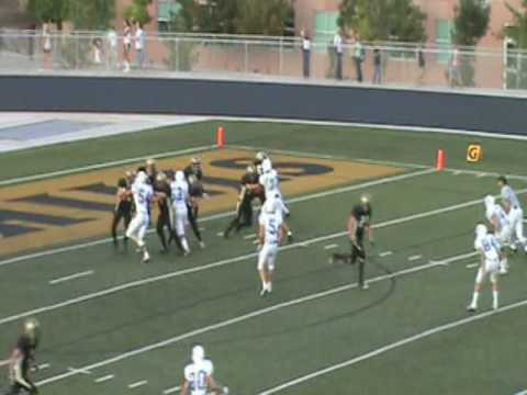 EJ - EDWARD STEVENSON FOOTBALL HIGHLIGHTS!!