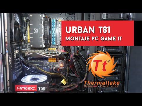 Montando un PC en la Urban T81 de Thermaltake
