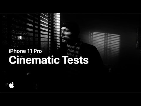 iPhone 11 Pro cinematic tests — Apple