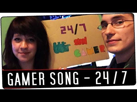 Gamer Song | 24/7 WIR SIND GAMER | by Hubi