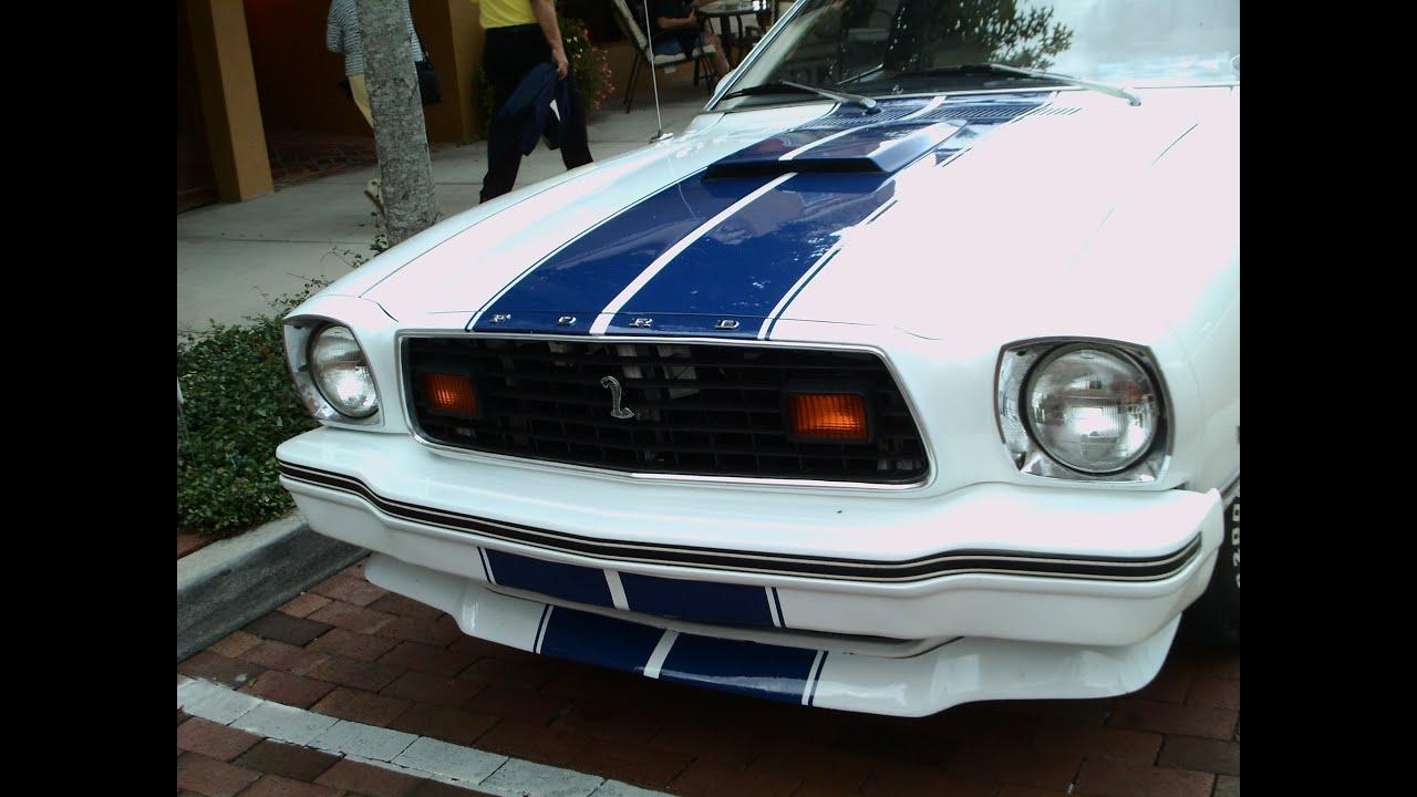1977 mustang ii cobra ii wht eustis092813