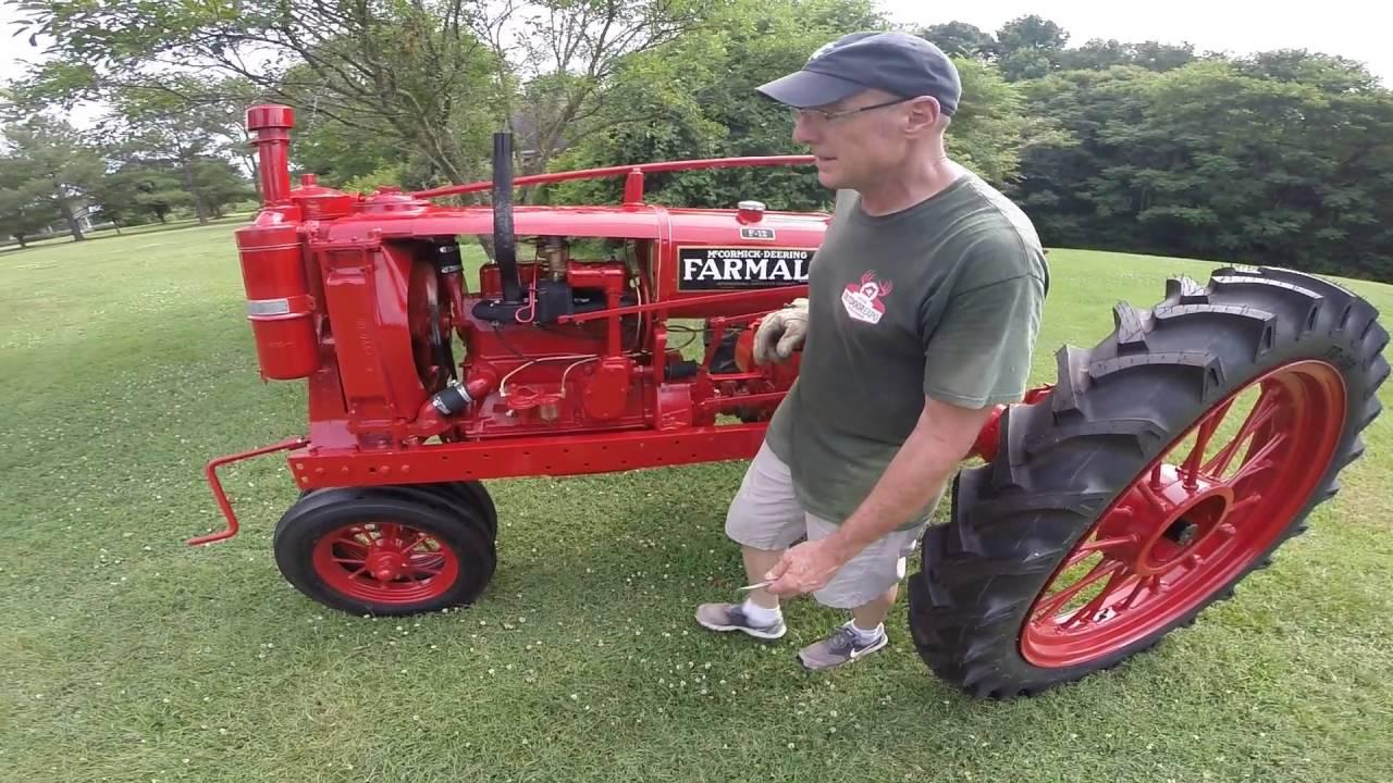 Farmall F 12 : Farmall f startup youtube