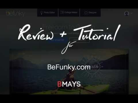 BeFunky.com Online Design Software Tutorial