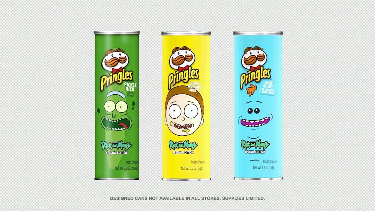 Pringles Presenta Nuevas Papas Fritas Inspiradas En Rick And Morty Y Aquí Hay Un Comercial Eclipse Blue Studios