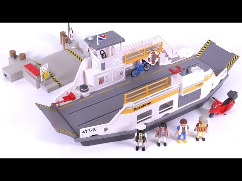 Playmobil Car Ferry with Pier reviewed! set 5127