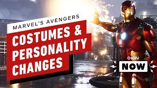Marvel's Avengers Personalities Will Change - IGN Now