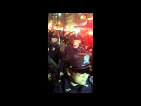 Violent NYPD Leaves Girl in Seizures at OccupyWallStreet #M17 - Graphic Content