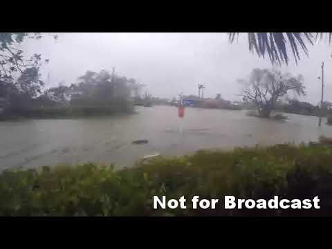 Extreme Surge On Marco Island Fl Hurricane Irma Youtube