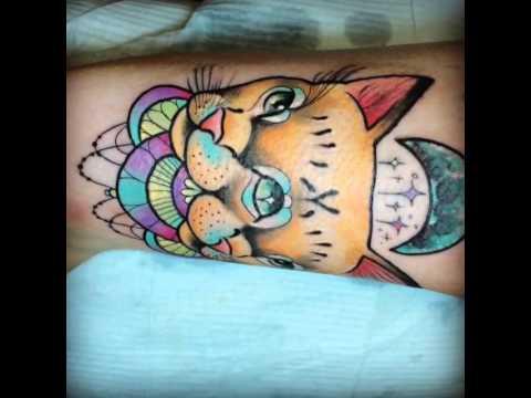 Helena darling tattoo Siamese cat