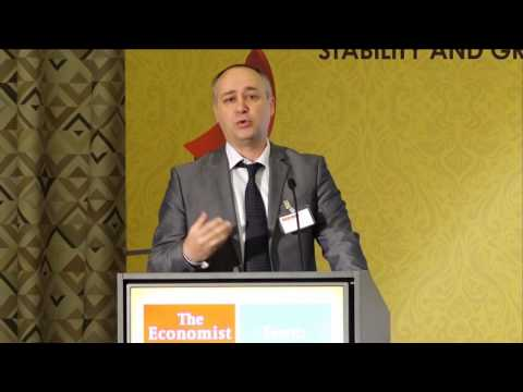 Mladen Perazic at The Economist's Sixth EU-SE Europe Summit in Montenegro