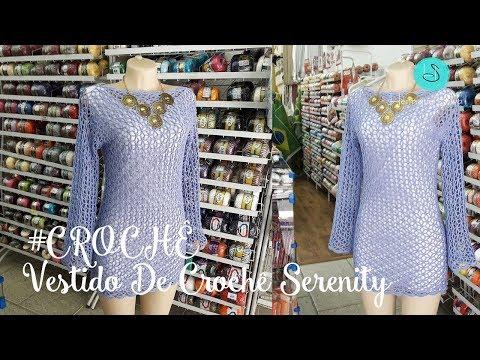 Vestido De Crochê Serenity - Henrique Silva TV