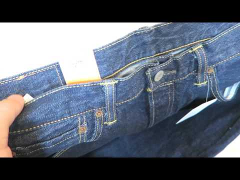 Genuine Levi's Men's 501 Original Fit Jeans from Amazon Unboxing 2