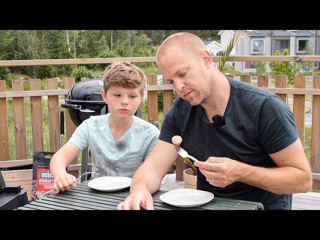 Matgeek testar 15 sorters grillkorv - feat. Ludde