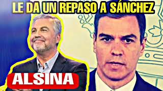 CARLOS ALSINA HUNDE A PEDRO SÁNCHEZ