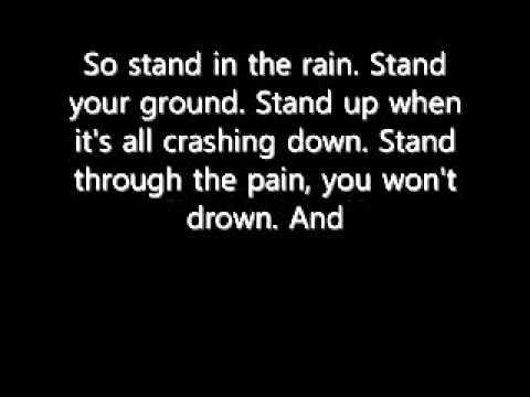 Stand in the Rain - Superchick *Lyrics*