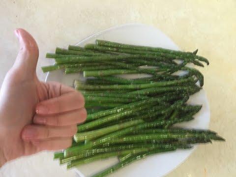 Как приготовить спаржу   how to cook asparagus