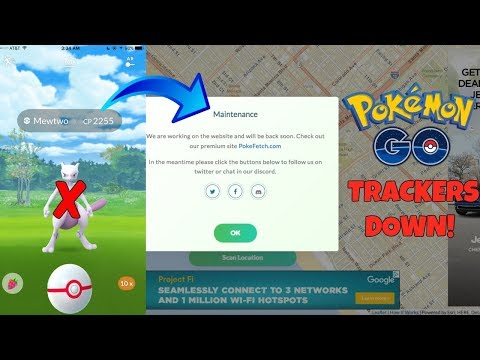 THIS IS WHY POKEMON GO TRACKERS ARE DOWN! NEW SECURITY PATCH UPDATE!