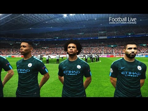 Feyenoord vs Manchester City | UEFA Champions League 2017/2018 | PES 2017 Gameplay PC
