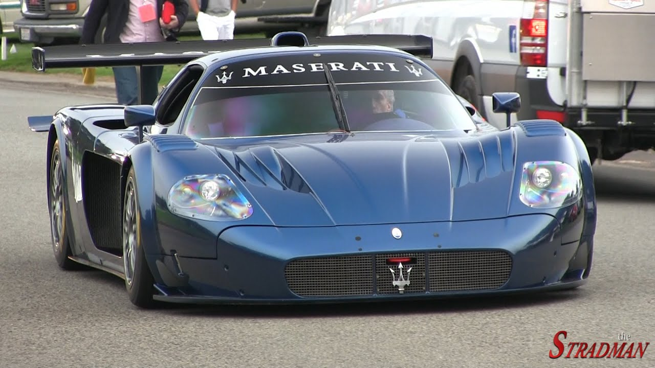 loud maserati mc12 corsa driving on public roads youtube. Black Bedroom Furniture Sets. Home Design Ideas