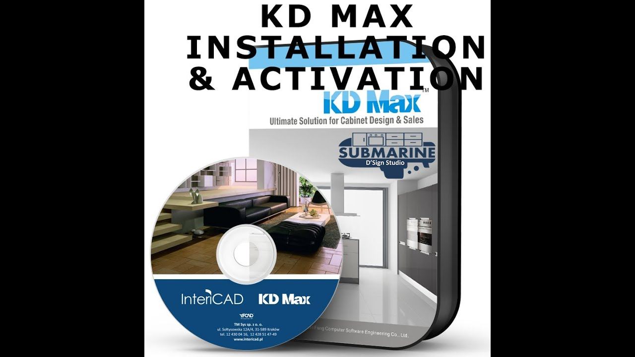 Kd Max 4 1 Installation Activation Step By Step Youtube