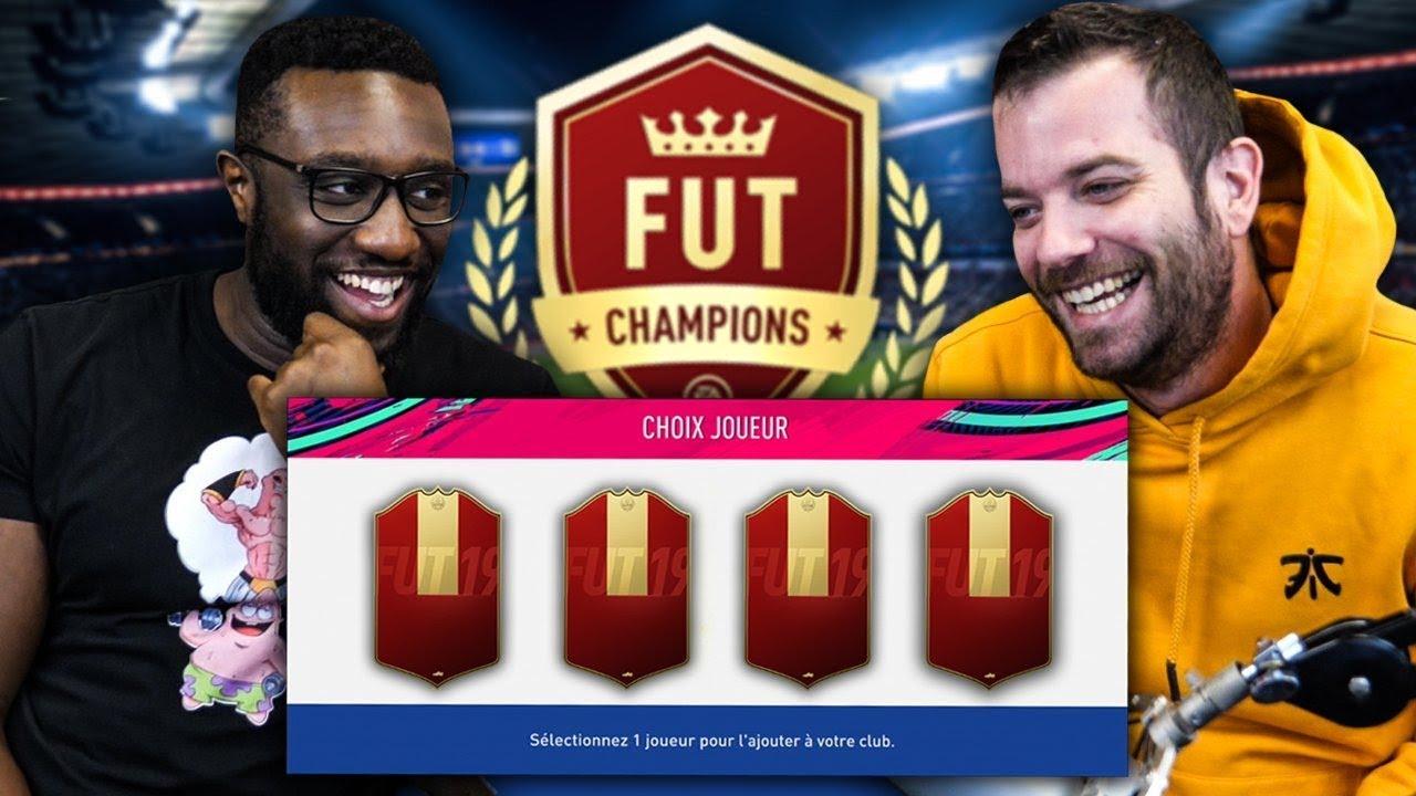 NOS RECOMPENSES FUTCHAMPION AVEC STEPHANE - FIFA19