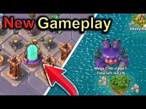 NEW Mega Crab Gameplay! Super Soldier Vats Breakdown! Boom Beach