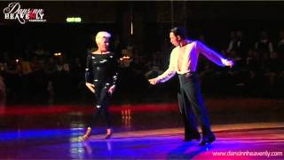 Michael Malitowski & Joanna Leunis Cha Cha Kiss 2012 DansinnHeavenly Pro/Am Showcase