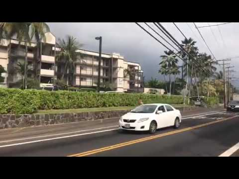 Walking Tour Ali'i Drive in Kona Hawaii