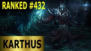 Karthus Mid Lane - Full League of Legends Gameplay [German] Lets Play LoL - Ranked #432