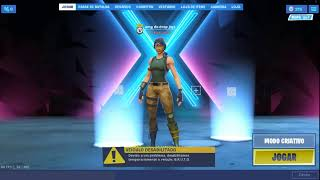 Fortnite mosntrando skins