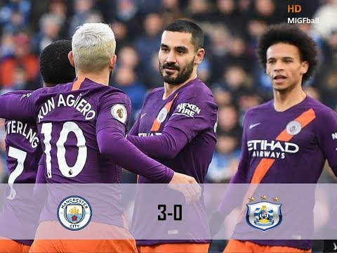 Manchester City vs Huddersfield  3-0 Highlights & Goals 2019 HD