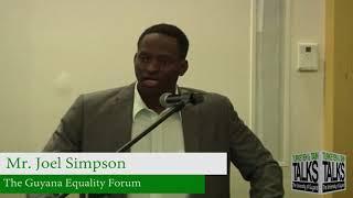 Turkeyen & Tain Talks 11 Education as Freedom   Mr.  Joel Simpson
