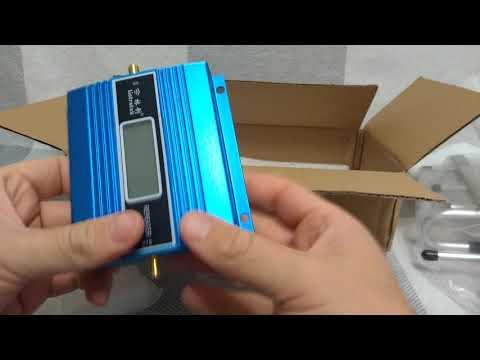 Усилитель сигнала сотовой сети GSM(2G) с Алиэкспресс
