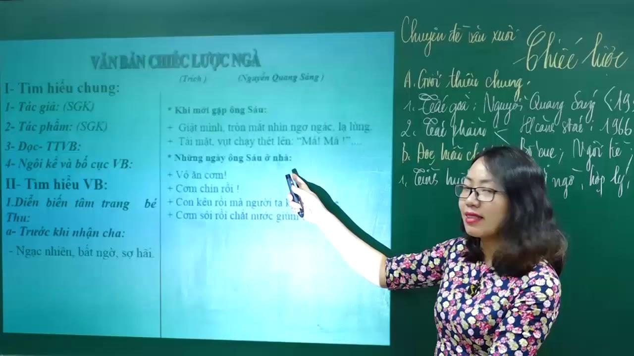 Ngữ Văn lớp 9 – Phân tích truyện ngắn Chiếc lược ngà của Nguyễn Quang Sáng