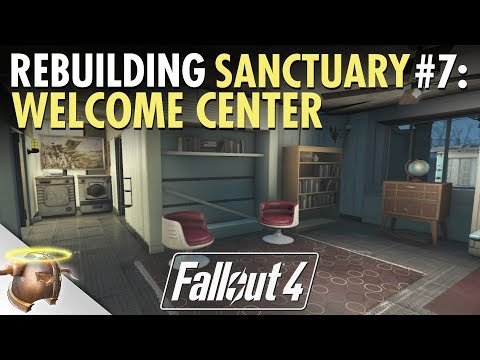 REBUILDING SANCTUARY HILLS with General Dave | Ep. 7 - The Welcome Center