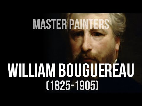 William Bouguereau (1825-1905) A collection of paintings. 4K