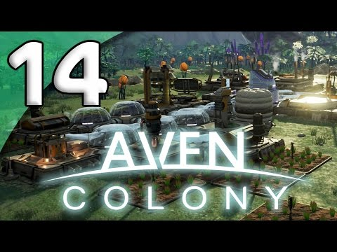 Aven Colony - 14. Enhancer Pacification - Let's Play Aven Colony Gameplay