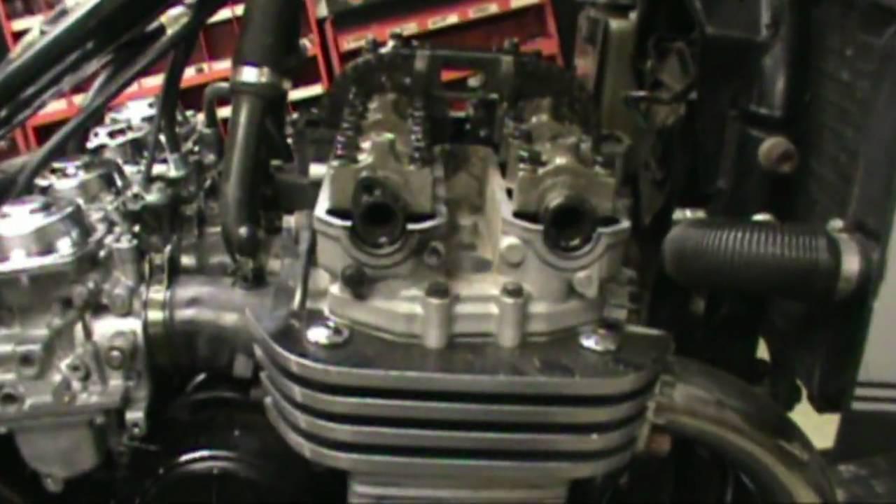 Yamaha R Valve Adjustment