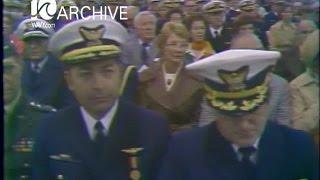 WAVY Archive: 1978 Coast Guard Change of Command