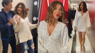 Nancy Ajram The Voice Kids 3 Backstage نانسي عجرم من كواليس الحـــلقة الأخير ذافويس كيدز